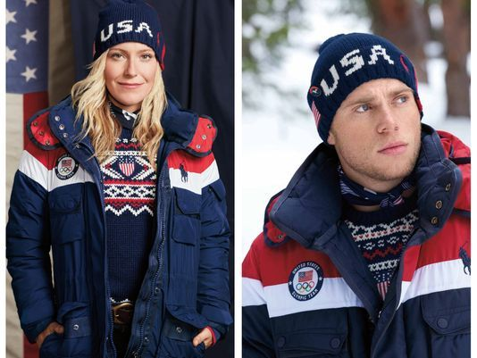 Crew USA Opening Ceremony Uniforms Flip Up the Warmth, Actually