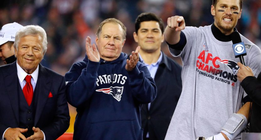Bill Belichick has supposedly become 'good friends' with Roger Goodell