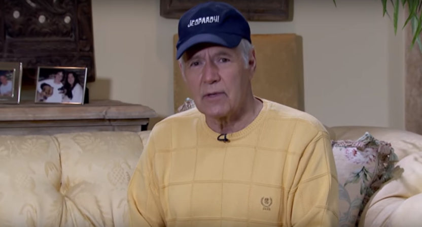 Alex Trebek gives an update on his health.