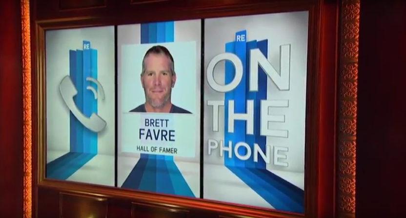 Brett Favre talks to Rich Eisen.
