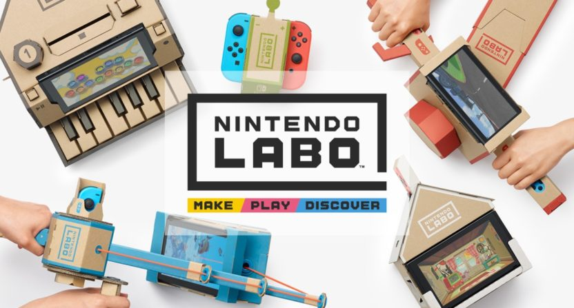 "Nintendo Labo ""build-and-play"" kits revealed for Nintendo Switch"