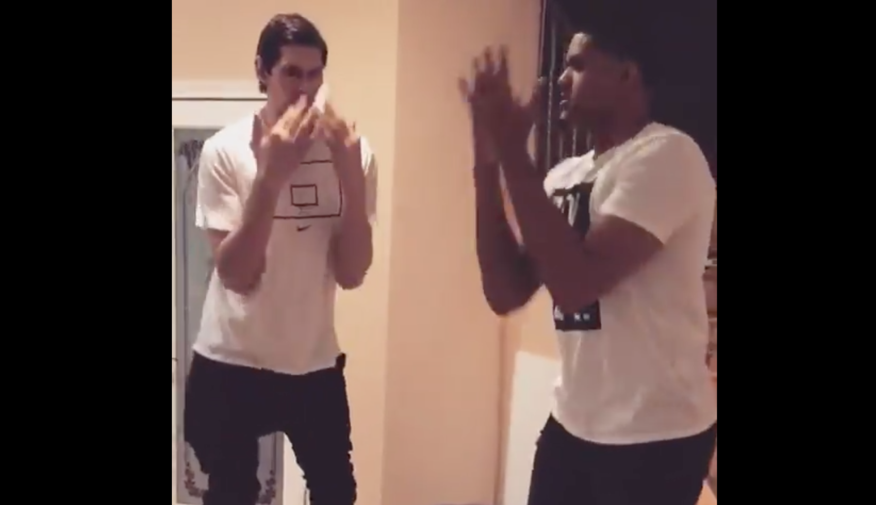 Boban Marjanovic dancing to 'Chicken Noodle Soup' is the ...