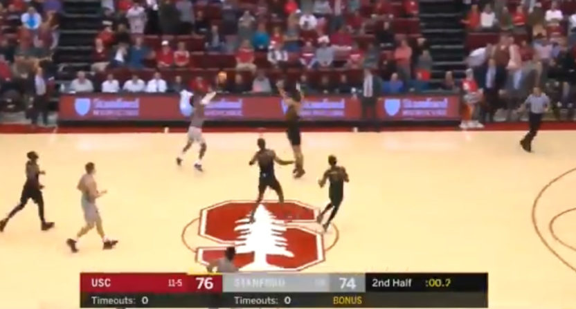 Daejon Davis' buzzer-beater for Stanford.