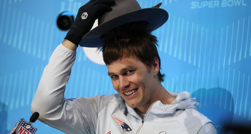 Tom Brady Ridiculed For Dropping Pass