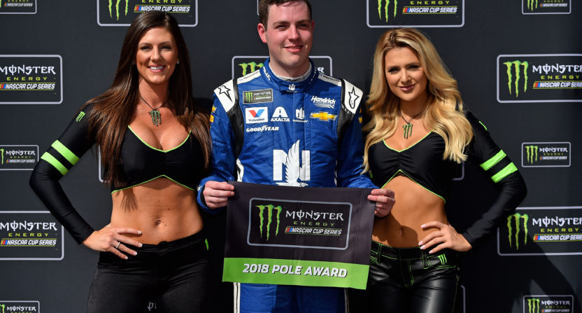 Alex Bowman starts Daytona 500 from pole in No. 88 car