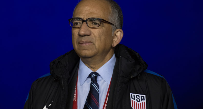 Cordeiro elected US Soccer President after third round victory
