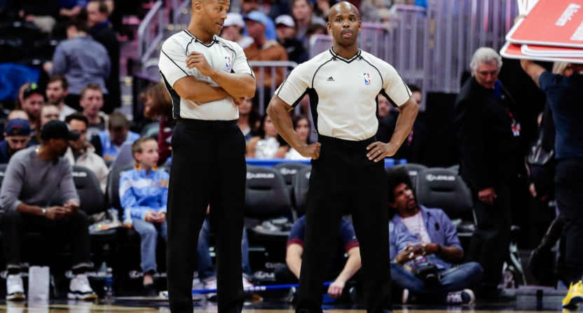NBA refs