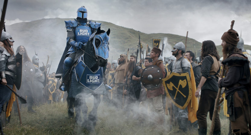 'Bud Knight' part of Bud Light's new Super Bowl ad