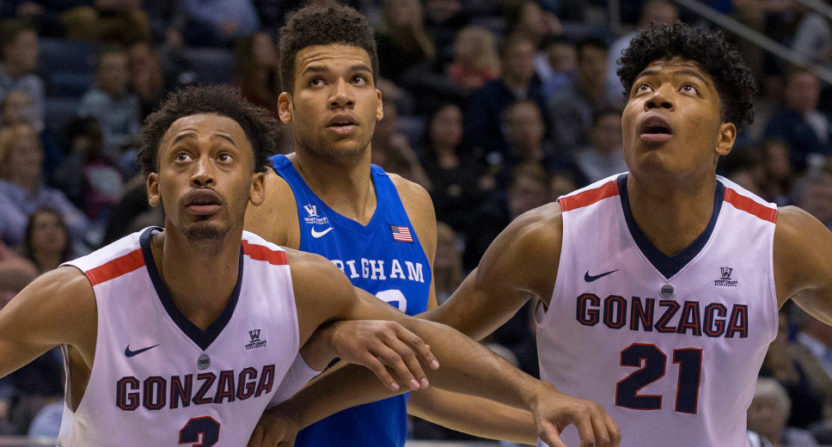Gonzaga, BYU could join Air Force's conference in basketball