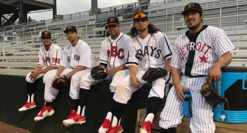 The Grambling Tigers wore uniforms saluting Negro Leagues history Tuesday.