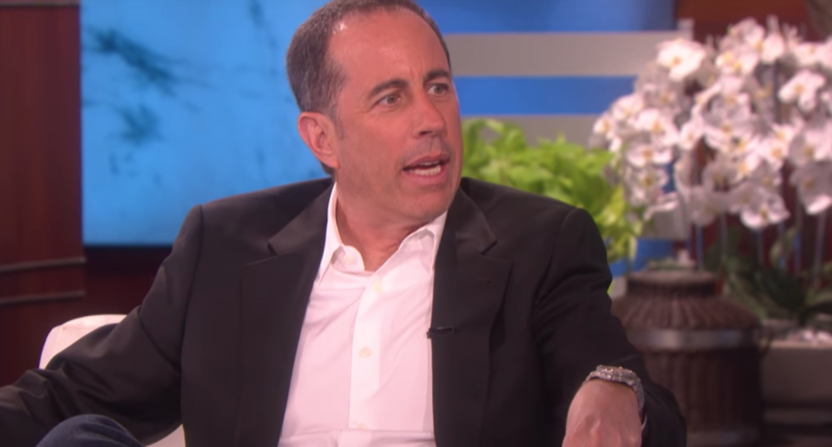 A Seinfeld Revival? Jerry Seinfeld Admits to Ellen: 'It's Possible'