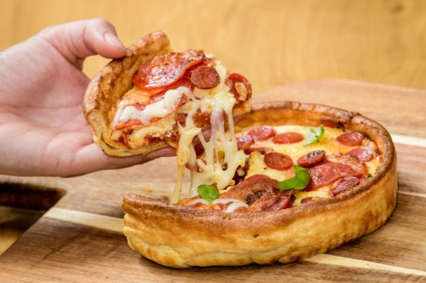 This Yorkshire Pudding Pizza Is The Definition Of Foodie Heaven