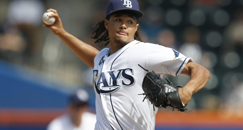 Rays trying 4-man rotation in 2018
