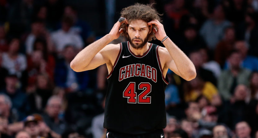 The Bulls may play Robin Lopez more down the stretch after being warned by the NBA about their tanking efforts.