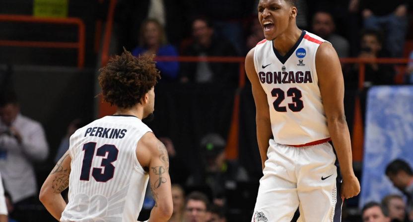 Gonzaga survives a scare from UNC Greensboro