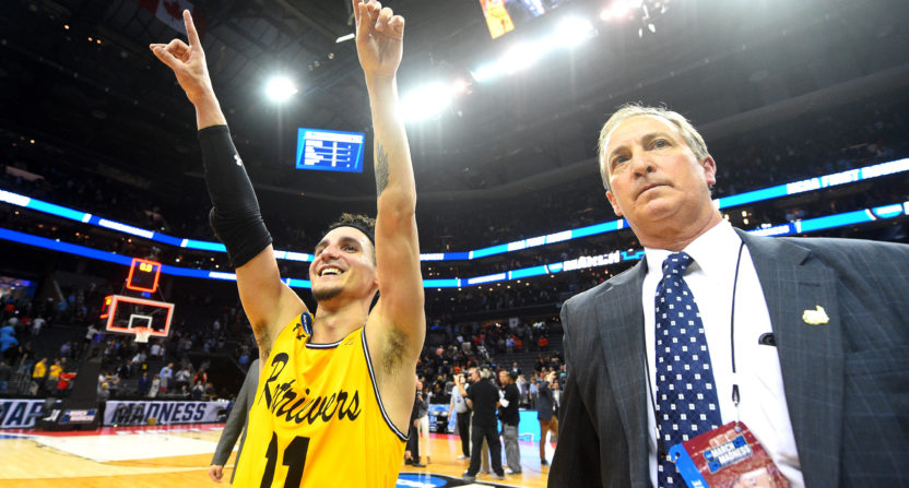 Retrievers bring home pizza: UMBC's 'crazy' win unlocks deal