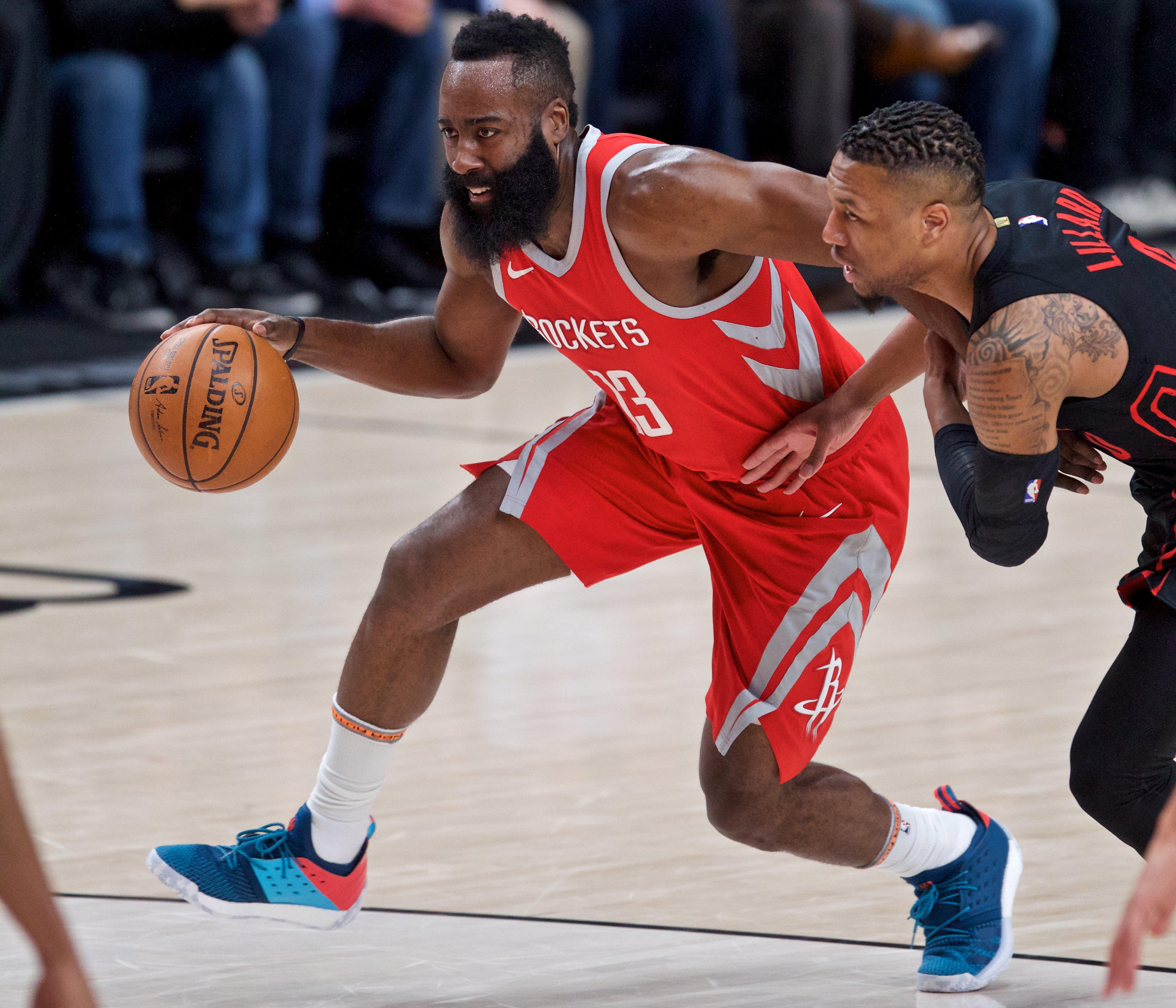 Portland Blazers Worth: NBA: Houston Rockets At Portland Trail Blazers