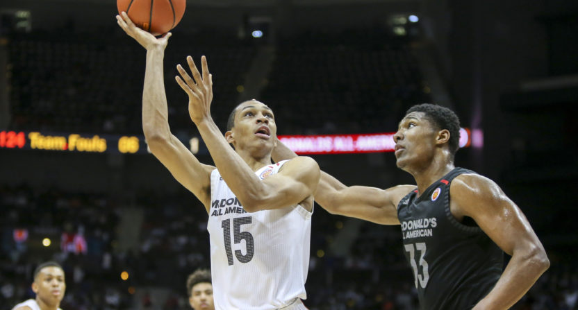 NCAA Basketball: Darius Bazley setting unprecedented trend