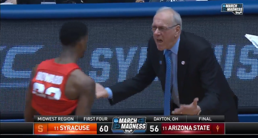 March Madness 2018: No. 11 Syracuse survives to face No. 6 TCU