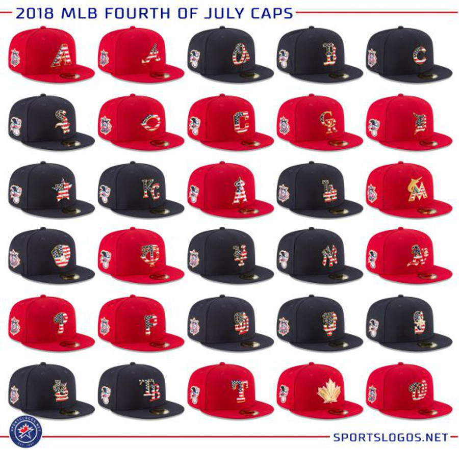 Fourth of July caps.