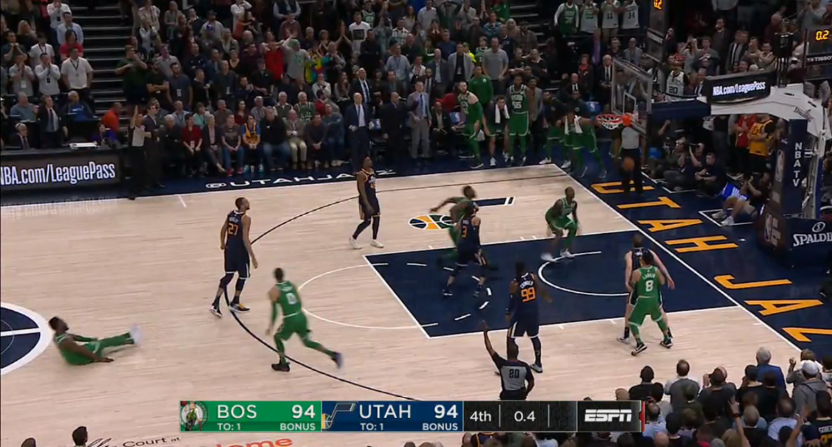Jaylen Brown knocks down game-winning 3-pointer vs. Jazz