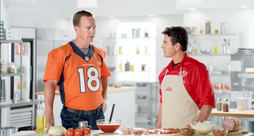Peyton Manning sells his Papa John's franchises