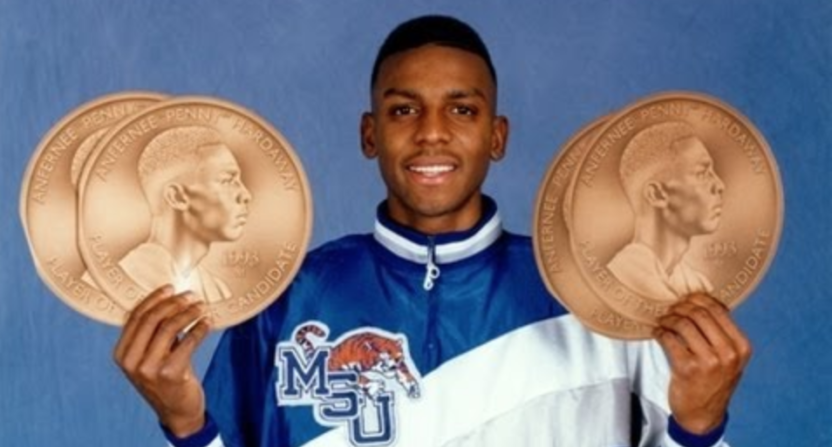 Memphis considering firing Tubby Smith, hiring Penny Hardaway