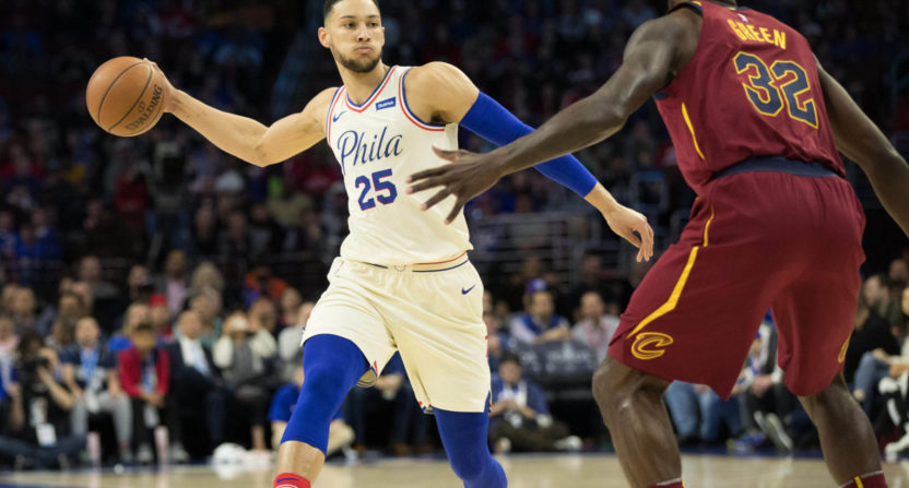 Ben Simmons and the Sixers hold off the Cavs, pull ahead ...