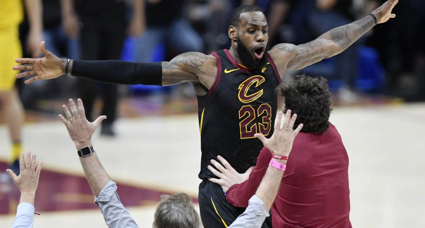 Cavs, LeBron James has won 13 and 11-straight closeout games, respectively