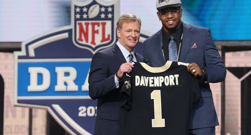 Don't hate on the Saints for trading up to get Marcus Davenport