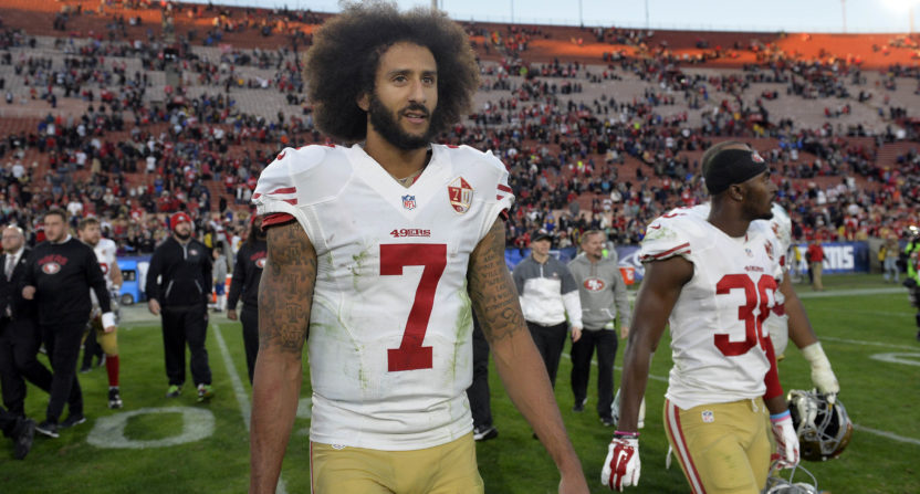 Seattle Seahawks rescind Colin Kaepernick workout invite over kneeling