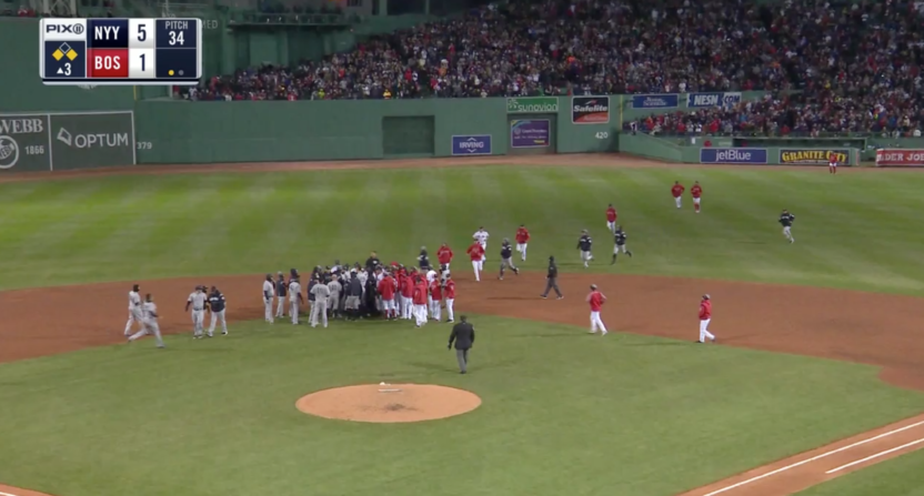 Red Sox-Yankees Fight Caught Ex-Boston Infielder Deven Marrero's Attention