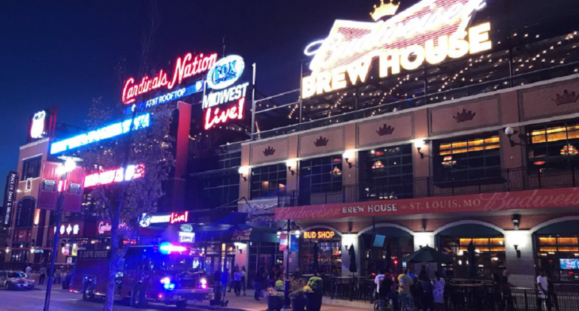 2 people shot at St. Louis dining and entertainment district