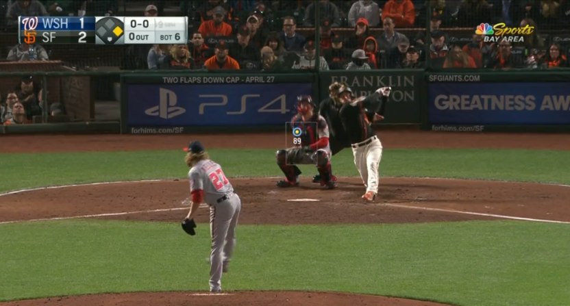 Giants Top Nationals 4-3 With Another Williamson HR