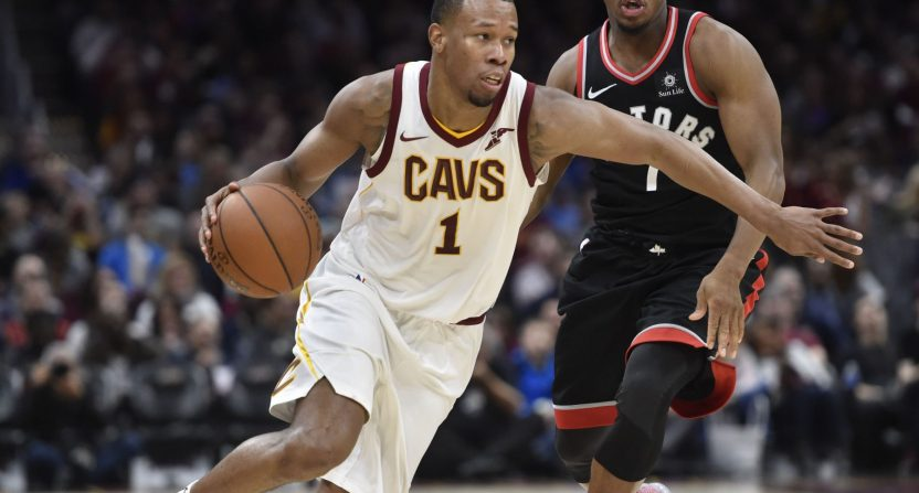 Cavs won't ban Rodney Hood over refusal to enter game