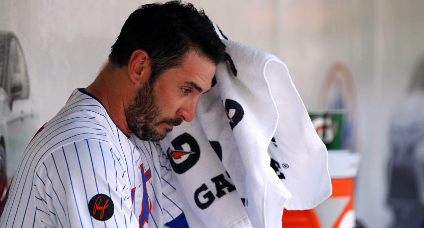 Matt Harvey's Time With The New York Mets Appears To Be Over