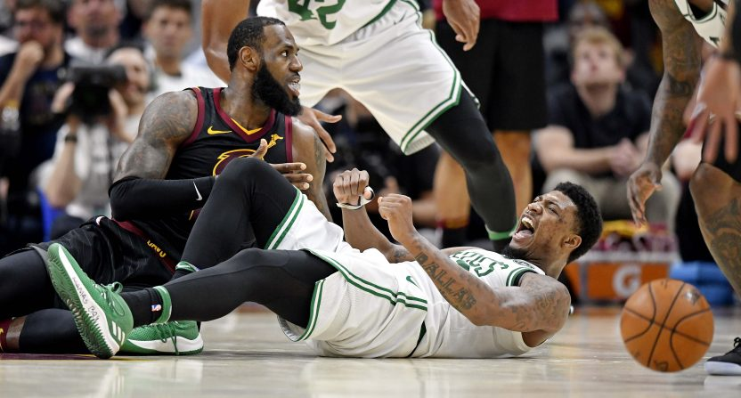Cleveland Cavaliers v Boston Celtics: LeBron James helps Cavs tie series