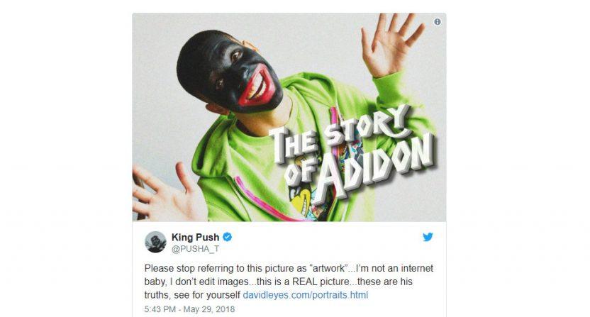Pusha T's response to Drake.
