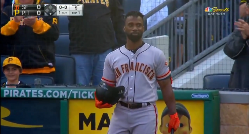Andrew McCutchen gets standing ovation, MVP chants in return to Pittsburgh