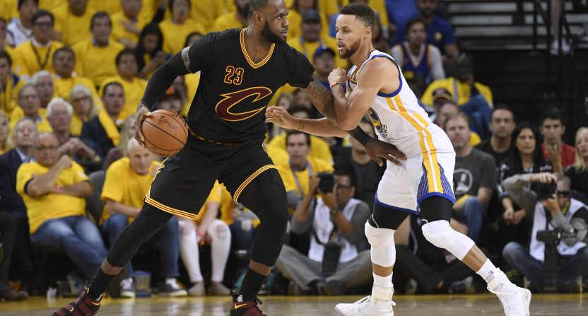 Warriors open NBA Finals as heavy favorites over Cavs