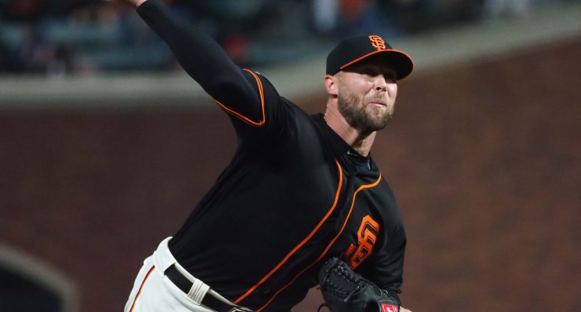 hunter strickland-san franciso giants