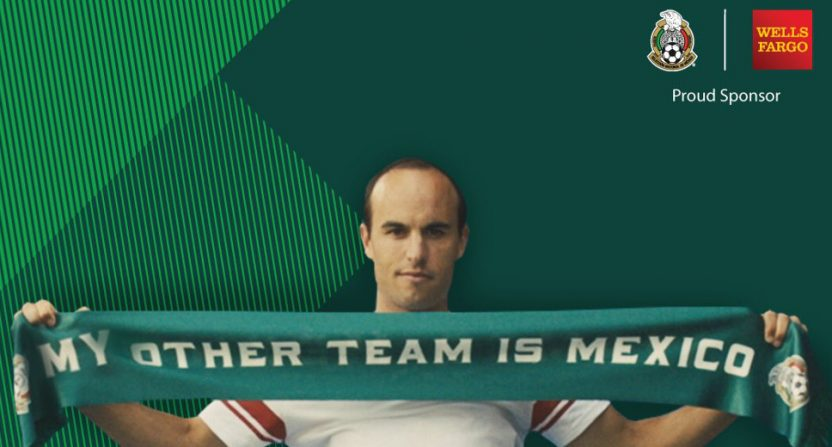 Landon Donovan's ad campaigns promoting the Mexican team have sparked backlash.