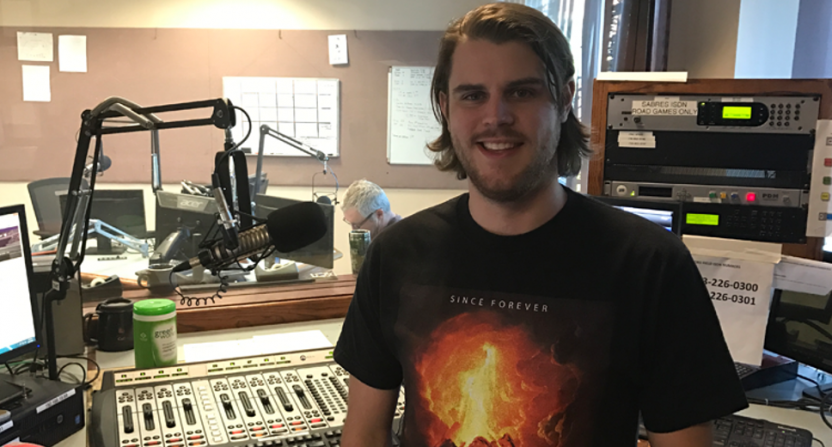 Buffalo radio host Ryan Gates is living up to his word to quit if the Bills drafted Josh Allen.