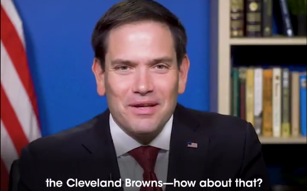 Marco Rubio attempts to reverse jinx a Miami Dolphins Super Bowl win ...