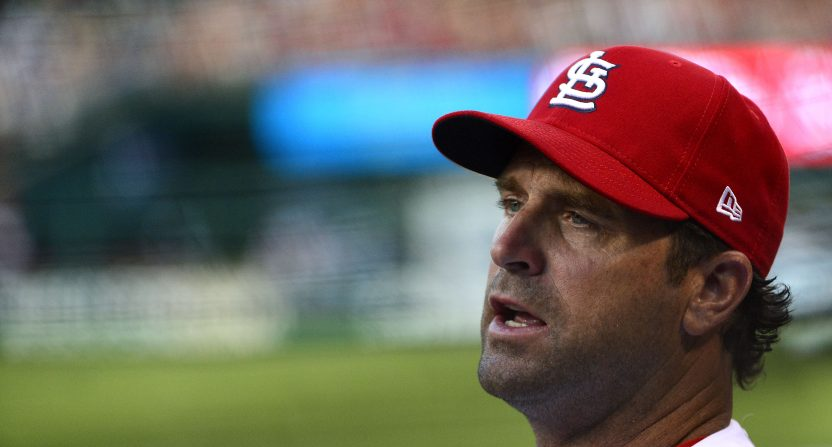 Cardinals turf manager Matheny, hitting coaches amid reported clubhouse tension