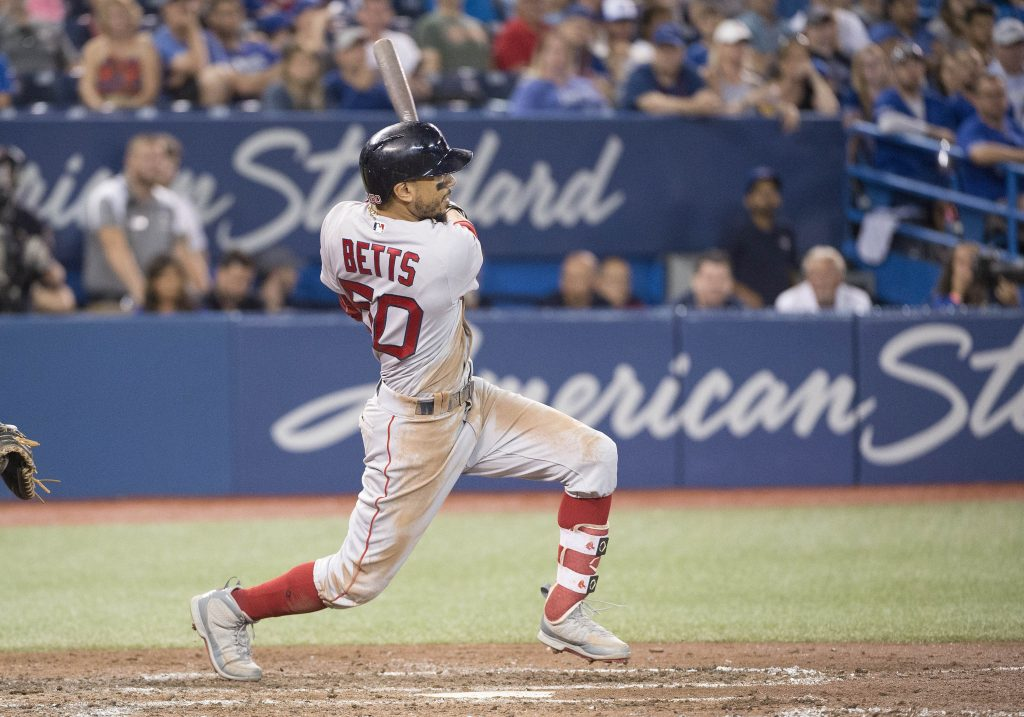 Mookie Betts hits HR in 9th to complete cycle & add 'Heisman moment' to ridiculous, MVP-worthy season