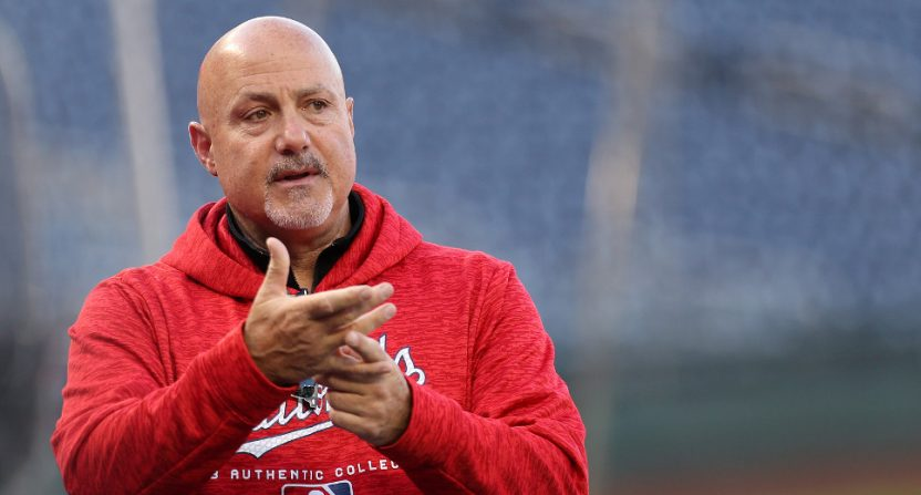 Nationals&#039 GM Mike Rizzo