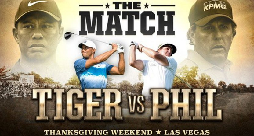 Turner will produce and distribute coverage of the Tiger Woods vs. Phil Mickelson event.