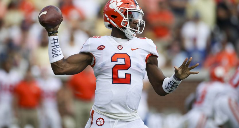 Clemson's Dabo Swinney on Kelly Bryant transfer: 'I respect' his decision