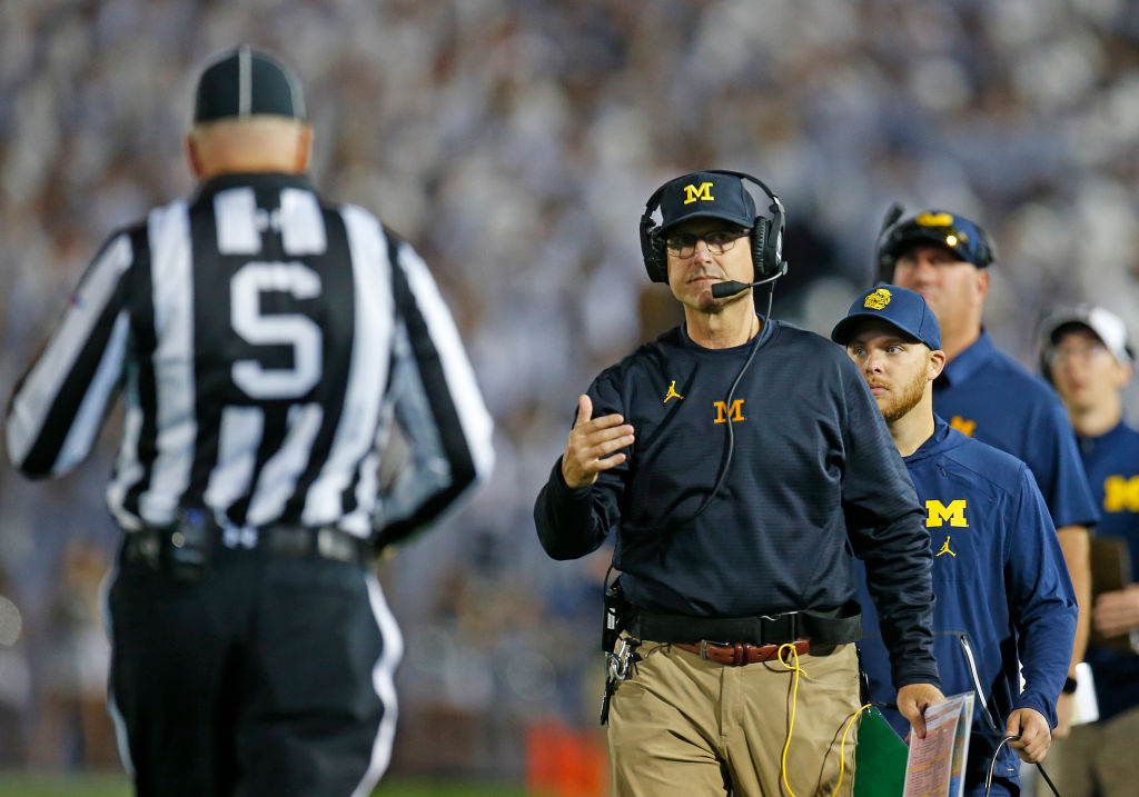 "Walmart asks Jim Harbaugh to stop wearing their pants: ""We have to protect the brand"" - Sports Pickle"
